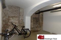 Fahrradraum-Kellerbereich