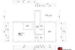 Detailplan-Wohnung